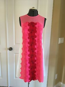 NWT-Ted-Baker-London-Angge-Happiness-Shift-Dress-Ted-Size-1-US-4-Orig-289