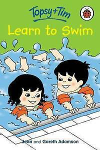 Topsy-and-Tim-Learn-To-Swim-Adamson-Gareth-Adamson-Jean-Very-Good-Book