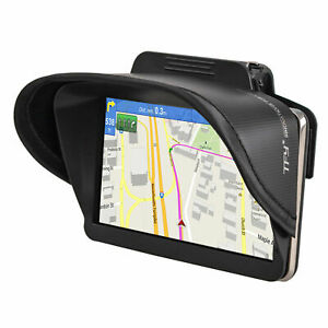 TFY Universal GPS Navigation Sun Shade Visor for 4.3-5 Inch Vehicle GPS