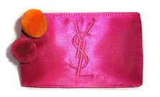 100%AUTHENTIC Ltd RARE Edition YSL COUTURE Signature Makeup~Travel~SILK CASE BAG