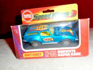 MATCHBOX Vintage SPEED KINGS Corvette Caper Cart 1 43 Models of Yesteryear metal