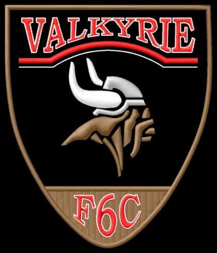 Valkyrie Head F6C 2000cc 1520 patch honda Aufnäher Parche brodé patche toppa