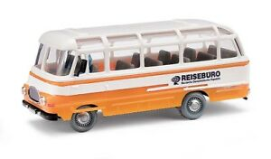 Busch-95704-Espewe-Robur-Lo-2500-Orange-Car-Model-1-87-H0