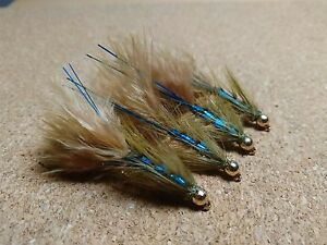 Toms Blue Neon Damsel Trout Buzzers Trout Lures Fly Fishing Trout Flies - <span itemprop=availableAtOrFrom>EARLSTON, Borders, United Kingdom</span> - Returns accepted - EARLSTON, Borders, United Kingdom