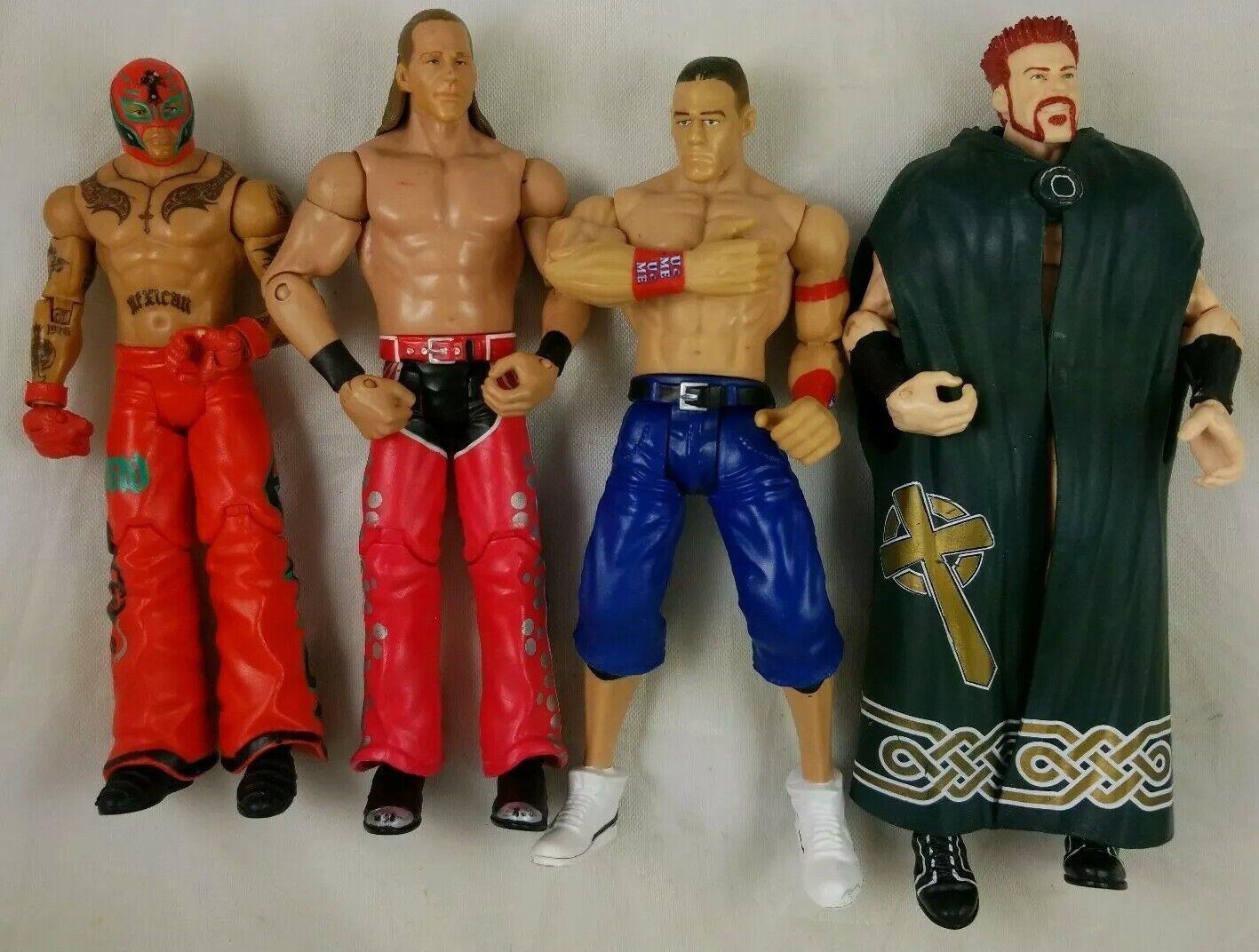 Lot de 32 WWE figures Mattel et JAKKS, Wrestling Action Figure. voir photos supplémentaires