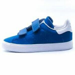 Boys Infants Baby Kids Adidas Stan SmithTrainers RRP £49 Blue