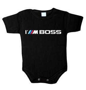 2b42d3bada669a Das Bild wird geladen Baby-Body-I-039-m-BOSS-driver-Babykleidung-