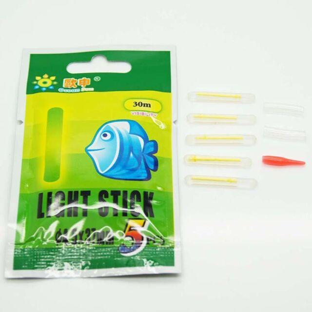 Free Shipping 50pcs/10bags Chemical Light Fishing Fluorescent Glow Stick