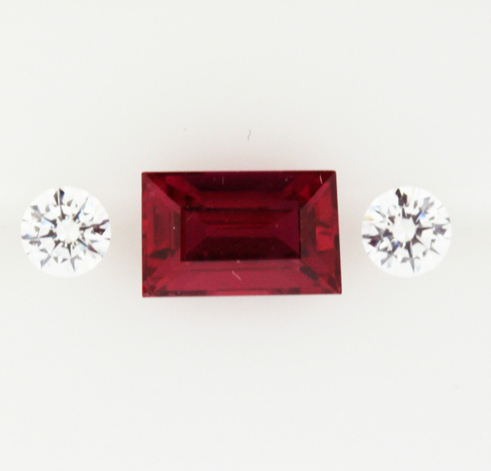 RUBY NATURAL 0.76ct   EXPERTLY FACETED IN GERMANY +CERTIFICATE AVAILABLE