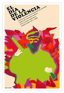 Decor Graphic Design movie Poster 4 film VIOLENT Day.Wall modern art.Spanish.