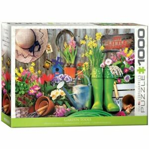 Eurographics Puzzle 1000 Piece Jigsaw - Garden Tools EG60005391