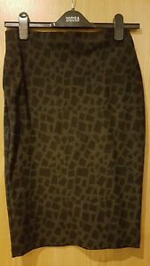 M-amp-S-black-and-grey-stretch-pencil-skirt-worn-once-size-8