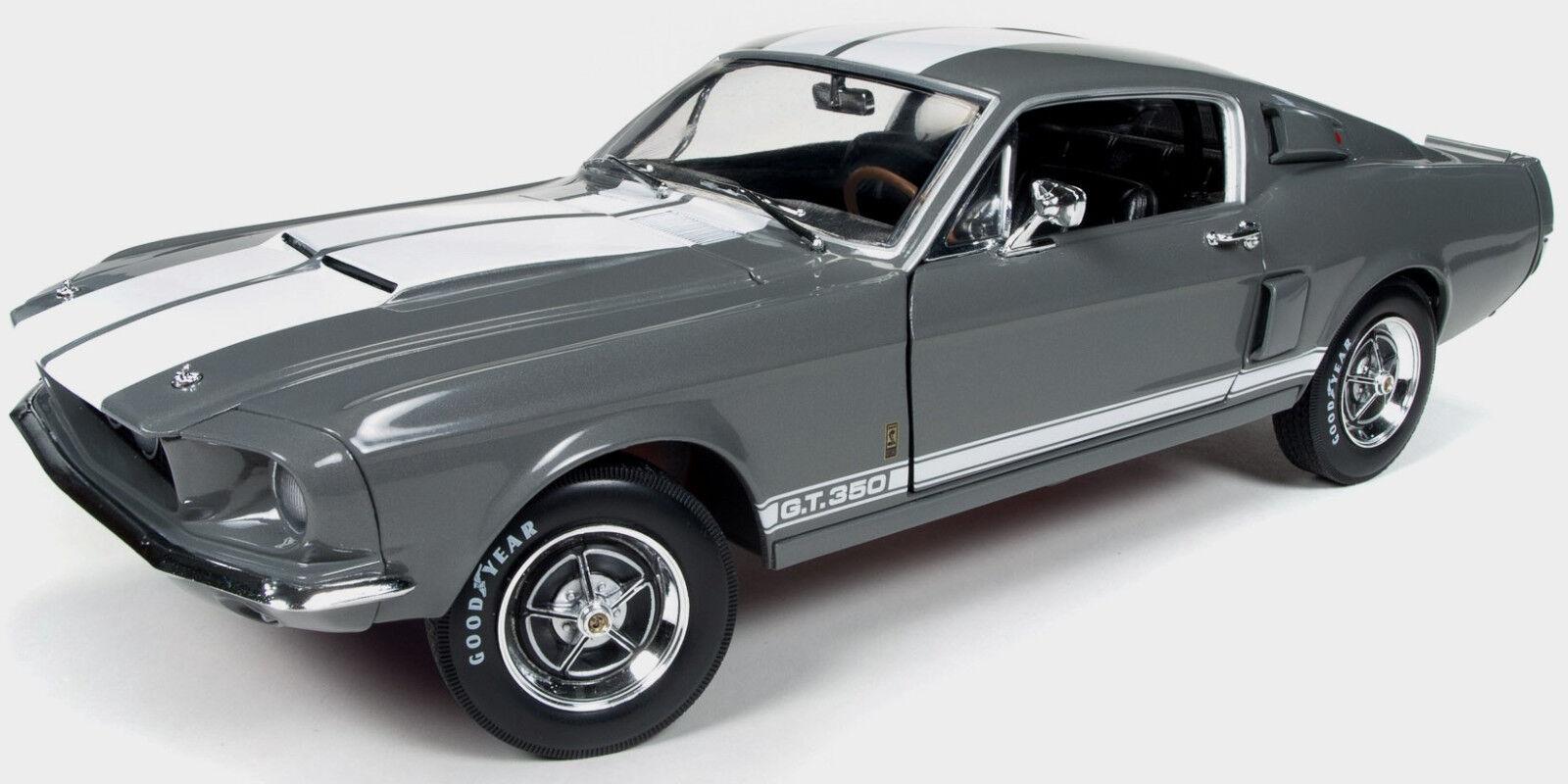 1967 Shelby GT350 Gris 1:18 1:18 1:18 Autoworld 1060 15c6b2
