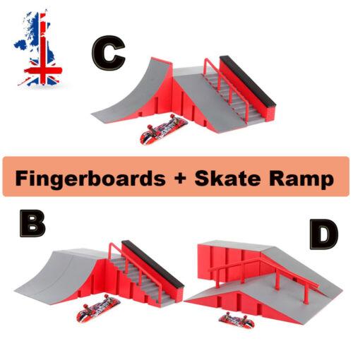Skate Park Ramp kit Tech Deck Mini Fingerboard Finger Board Ultimate Parks