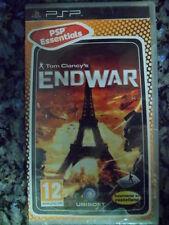 Tom Clancy's EndWar PSP Nuevo precintado aventura en castellano Clancys End War