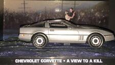 James Bond voitures collection 037 CHEVROLET CORVETTE A view to a kill
