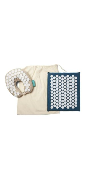 Kanjo Accupressure Pillow And Mat Travel Kit new without ...