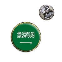 Flag Of Saudi Arabia Lapel Hat Tie Pin Tack