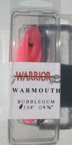 """3 3//4/"""" Guerrier articulé-color = Bubble Gum"""