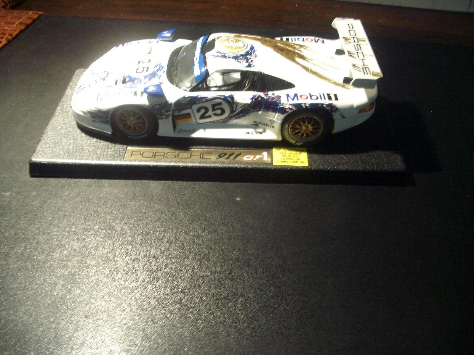 Maisto 1 18 Porsche 911 GT1  5 S.gris-A.Scheld FIA GT Championship 1998
