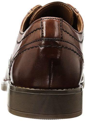 Shoes Salex Tan 41 Fit 7 Leather Oxford Fly Garren Eu 14 G Uk Ln22 Mens Clarks 1BZgYUq