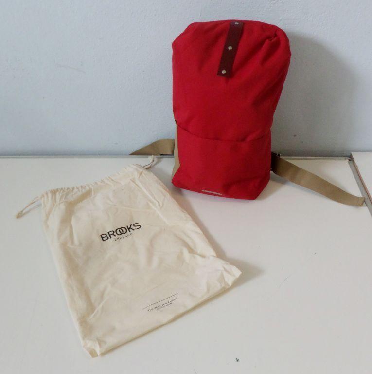 Brooks England Dalston Test BB023 A07516 Rucksäcke Backpack rot one Größe BA4