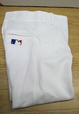 New Team MLB S White Majestic 857 Baseball Pants Polyester Youth Small A20