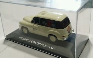Camion-publicite-LKW-Truck-RENAULT-COLORALE-LU-IXO-1-43-Neuf-en-boite