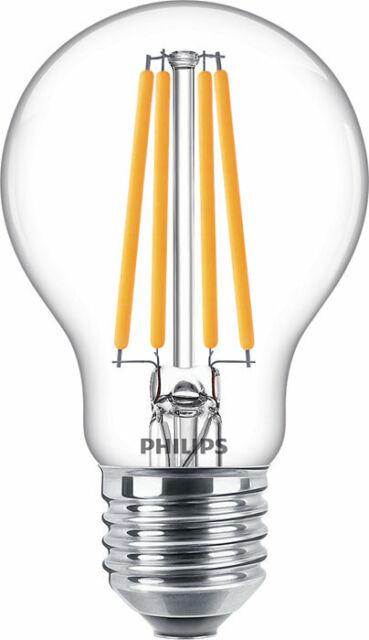 LAMPADA LED FILAMENTO PHILIPS 10,5W = 100W E27 LUCE CALDA BULBO GOCCIA LAMPADINA