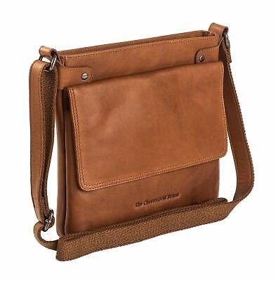 Ehrlichkeit Sthe Chesterfield Brand Brussels Shoulderbag Umhängetasche Tasche Cognac Braun