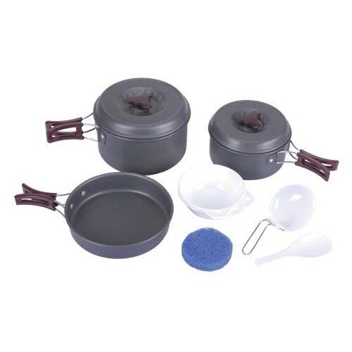 9-teiliges Utensilios de Cocina Aluminio Anodizado