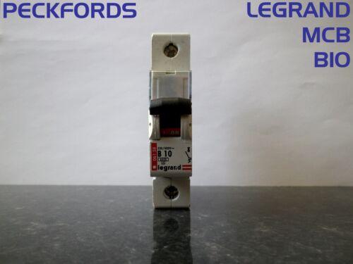Legrand Type B 10 AMP 061-58 MCB Circuit Breaker Single 1 Pole