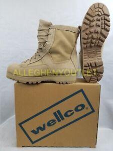 NIB US Military Wellco GORETEX Temperate Weather COMBAT BOOTS Vibram Sole 11W