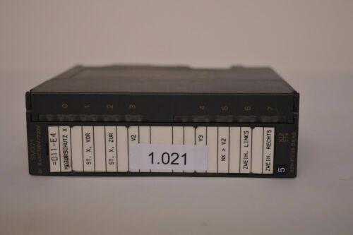 Siemens Simatic S7 6ES7 321-1FF01-0AA0 6ES73211FF010AA0 1.021
