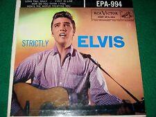 ELVIS / STRICTLY ELVIS #EPA-994 ( RARE NO NIPPER ON LABEL )