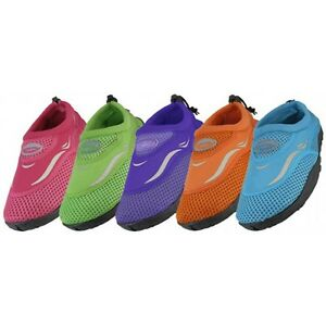 Kids Childrens Boys Girls Slip On Water Shoes/Aqua Socks/Pool ...