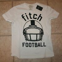 Abercrombie Boys Xl Glow In The Dark Football Muscle Fit T-shirt