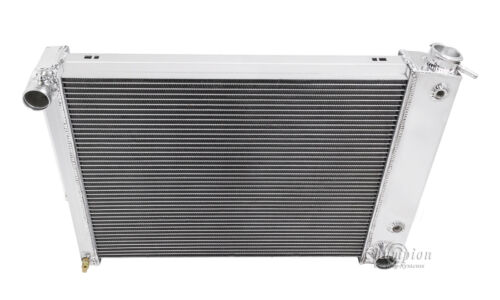 Champion Racing 4 Row Aluminum Radiator For 1967-69 Chevy//Pontiac Cars