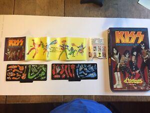 KISS Colorforms complete 1979 Set. Rare Condition. Aucoin