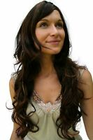 Wig: Brunette Long Beautiful Highlights Wig 9204s-2t33-27 Wig Wig