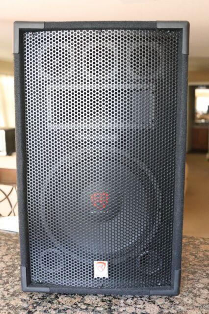 Rockville RSG12.4 12 3-Way 1000 Watt 4-Ohm Passive DJ//Pro Audio PA Speaker