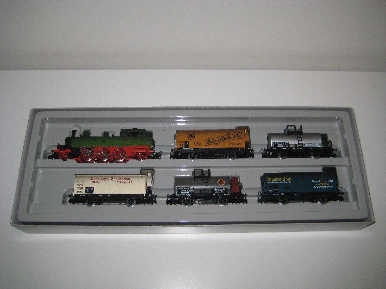Marklin H0 2857 - Set de trenes  Württemburg Goods Train  Märklin 125 Aniversari