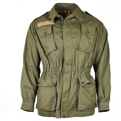 Original Italian army olive green jacket shirt military ...