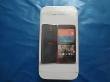 HTC Desire 620G - 8GB - Grey / Orange Dual Sim (Unlocked) Smartphone sealed