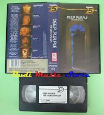 VHS DEEP PURPLE The videosingles 1987 POLYGRAM CFV 04182 30 MINS no cd mc (VM2)