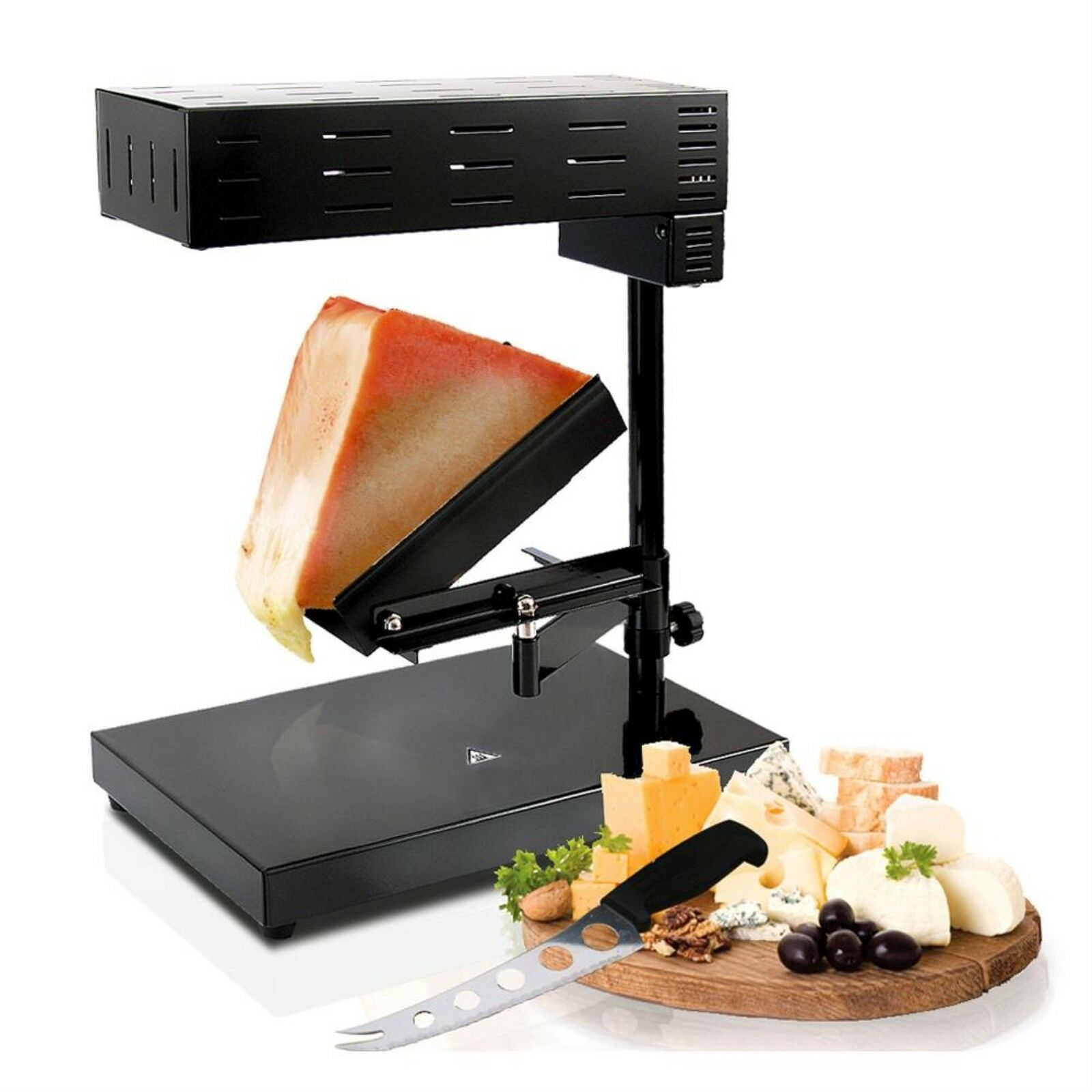 Cheese Raclette Electric Cheese Warmer Melter w  Adjustable Temperature Control