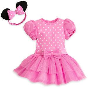 d403b8068 La foto se está cargando Disney-Minnie-Mouse-Rosa-Disfraz-Body-para-Bebe-