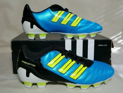 8753239538ac adidas Adipower Predator TRX FG Soccer Cleats Blue white G40967 Size 5.5  Men Boy for sale online