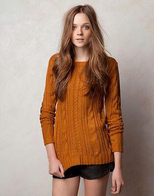 Women's Casual Long Sleeve Knitted  Knitwear Jumper Cardigan Jacket Sweater Coat