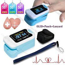 OLED Saturimetro Da Dito Pulsossimetro Ossimetro Finger Pulse OximeteR+borsa 50N